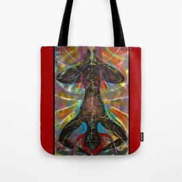 The Hanging Woman Tote Bag