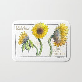 Sunflowers Bath Mat