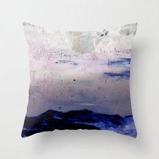 Winter Pond Throw Pillow