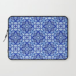 For the Love of Blue - Pattern 372 Laptop Sleeve