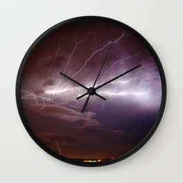 Nature's Light Show Wall Clock
