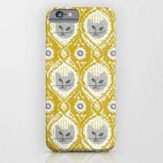Grey Cat Slim Case iPhone 6s