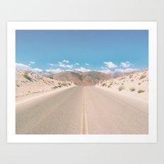 CA Desert Art Print