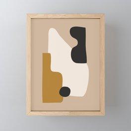 abstract minimal 16 Framed Mini Art Print