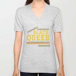 Black Queen Unisex V-Neck