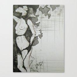Continents  Canvas Print