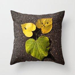 Leaf Love No.2 Throw Pillow