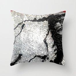 Poetic Texture II Throw Pillow