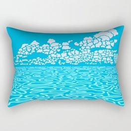 Tropical Ocean by Black Dwarf Designs Rectangular Pillow