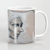 mother of dragons Mugs featuring Mother by Clayton Young