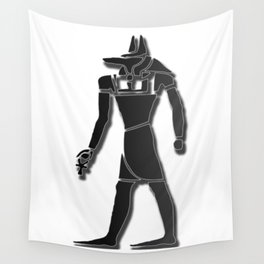 Egyptian Symbol : Anubis Wall Tapestry
