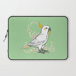 Fluffy The Sulphur Crested Cockatoo Laptop Sleeve