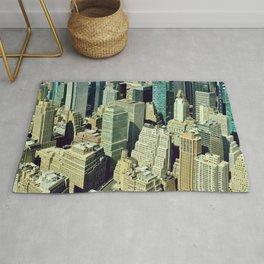 Manhattan skyscrapers - Fine art Travel Photography Rug