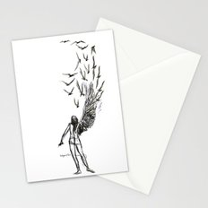 Winged  Stationery Cards