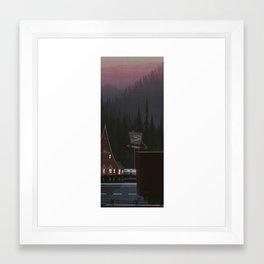 Phantom 309 Framed Art Print