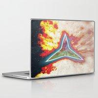 big bang Laptop & iPad Skins featuring Big Bang by Helle Gade