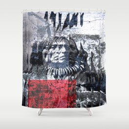 THE ETHNOLOGY Shower Curtain