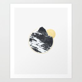 Mt. Golden Art Print