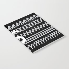 All about Money Typography Design Notebook