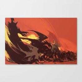 Sunset. Silmarillion fanart Canvas Print