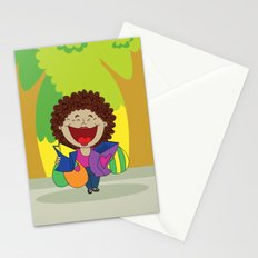 Inspired on my mom, when she just can't stop laughing!   Stationery Cards