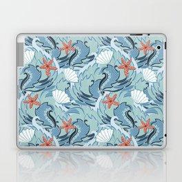 Sea pattern with shells and starfish Laptop & iPad Skin
