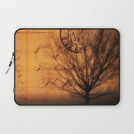 Beneath The Haunted Tree Laptop Sleeve