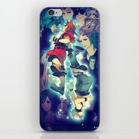 kingdom hearts iPhone & iPod Skins featuring Kingdom Hearts by Ginilla