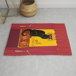 Le Chat Noir DAmour Theatre Stage Rug