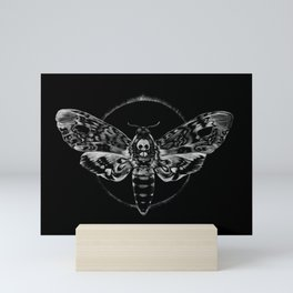 Death's-head Hawkmoth Mini Art Print
