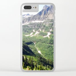 Time To Reflect Clear iPhone Case