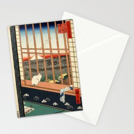 Asakusa ricefields and torinomachi festival Stationery Cards