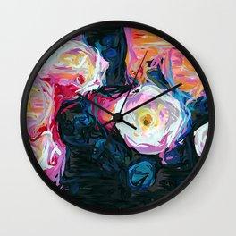 Flowerella Wall Clock