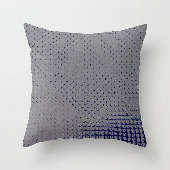 :: Metal Floor :: Throw Pillow