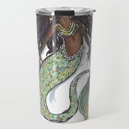 dreadlock mermaid Travel Mug