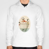 tooth Hoodies featuring Tooth by Judith Loske