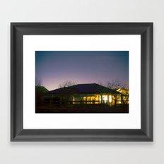 solar Framed Art Print