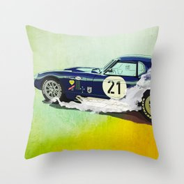 Daytona Coupe Throw Pillow