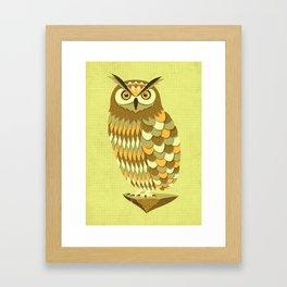 Mowly Framed Art Print