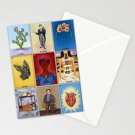 La Lotería de Frida Stationery Cards