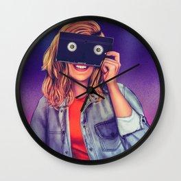 VHS Vision Wall Clock