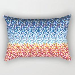 Venice Beach Funfetti Sunset Rectangular Pillow