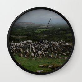 The Irish Wild West (County Clare) Wall Clock