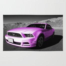 Pink Mustang  Rug