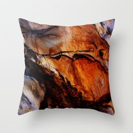 Goldmine Throw Pillow