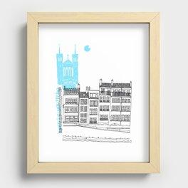 Lyon, France Recessed Framed Print