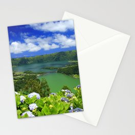 Crater lakes Stationery Cards