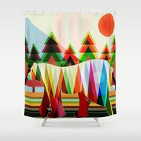 camouflage Shower Curtains featuring Camouflage by milanova