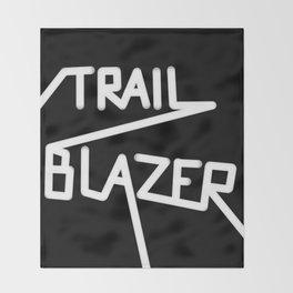 Trailblazer B&W Throw Blanket