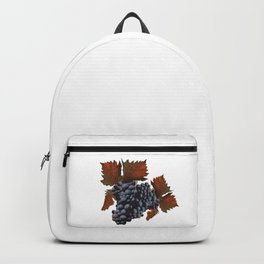 Henkel grapes, Palatinate, autumn Backpack